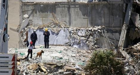 Vụ sập chung cư ở Florida: Thêm nhiều thi thể được tìm thấy, 150 người vẫn mất tích