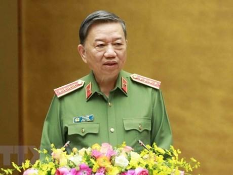Bộ Công an Việt Nam thúc đẩy hợp tác với cơ quan hữu quan Indonesia