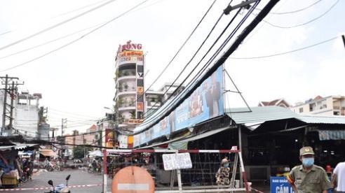TP HCM: Phong tỏa tạm thời Mega Market An Phú, một phần chợ Bà Chiểu