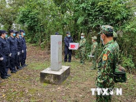 Tuần tra song phương Việt Nam-Trung Quốc trên tuyến biên giới