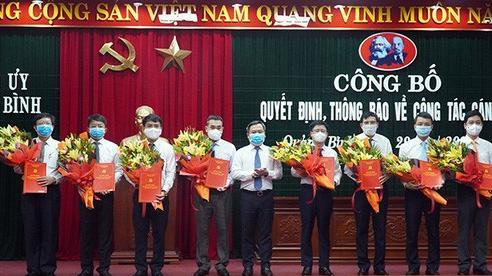 Quảng Bình điều động, bổ nhiệm 8 giám đốc sở, ngành