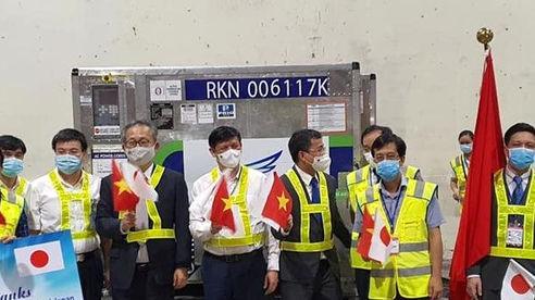 1 triệu liều vắc xin Covid-19 từ Nhật về Việt Nam đầu tháng 7