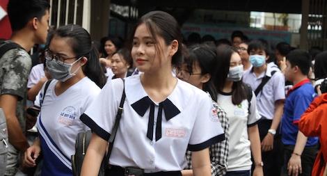 Thí sinh thi tốt nghiệp THPT tại TP Hồ Chí Minh phải xét nghiệm COVID-19
