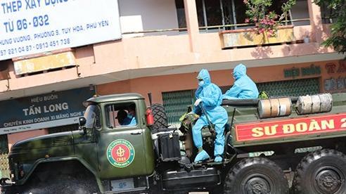197 ca nhiễm, nhiều địa phương, đơn vị hỗ trợ Phú Yên chống dịch
