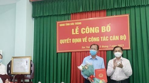 Sở Lao động – Thương binh và Xã hội tỉnh Sóc Trăng có tân giám đốc