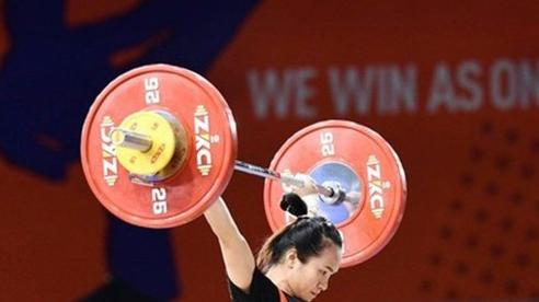 IWF áp án phạt, Vương Thị Huyền không dự Olympic 2020