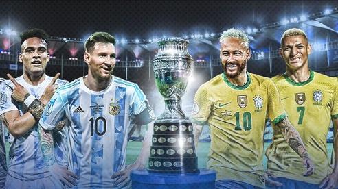 'Siêu kinh điển' Nam Mỹ quyết định ngôi vương Copa America 2021