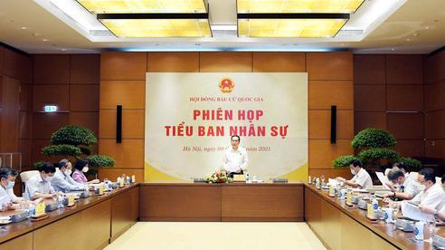 Phiên họp thứ 4 Tiểu ban Nhân sự, Hội đồng Bầu cử quốc gia