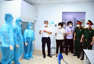 Đoàn công tác Bộ Y tế thăm, làm việc với Chi nhánh phía Nam Trung tâm Nhiệt đới Việt – Nga