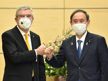Thủ tướng Nhật Bản và Chủ tịch IOC gặp nhau trước thềm Thế vận hội