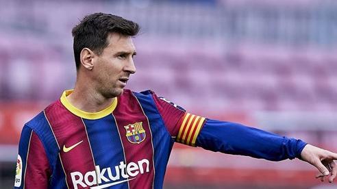 Messi ở lại Barcelona cùng bản hợp đồng 5 năm, đồng ý giảm sâu lương