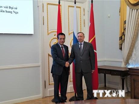 Thành phố St. Petersburg thúc đẩy hợp tác với địa phương của Việt Nam
