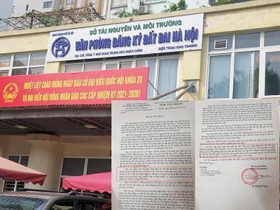 Hà Nội: Phường đề xuất thu hồi Giấy xác nhận - Sở Tài nguyên & Môi trường 'đá bóng' về UBND quận Cầu Giấy