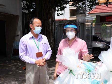 Lãnh đạo Thành phố Hồ Chí Minh thăm các khu cách ly tập trung
