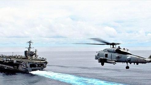 Mỹ chuyển giao các máy bay trực thăng đa chức năng MH-60R đầu tiên cho Hải quân Ấn Độ