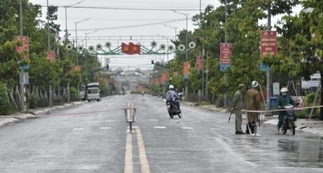 Phong tỏa một thị trấn ở Sóc Trăng