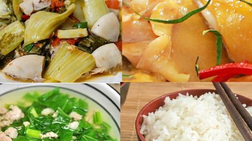 Thực đơn cơm chiều: 3 món thơm ngon
