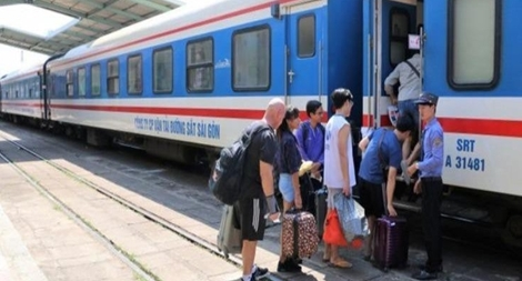 Đường sắt sẵn sàng vào cuộc  đưa người dân các tỉnh phía Nam  về quê an toàn