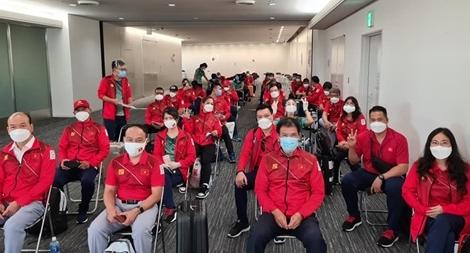 Đoàn Thể thao Việt Nam tới Nhật Bản tham dự Olympic Tokyo 2020