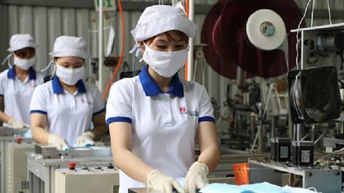 Xuất khẩu 20,07 triệu khẩu trang y tế, giảm 6,5% so với tháng trước