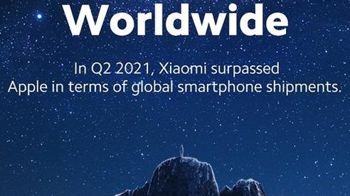 Xiaomi vươn lên vị trí thứ 2 thị trường điện thoại thông minh toàn cầu