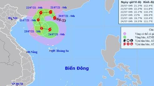 Bão số 3 giật cấp 14 trên vùng biển tỉnh Quảng Đông (Trung Quốc)