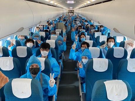 Vietnam Airlines đưa hơn 600 người dân Đà Nẵng trở về từ TP.HCM