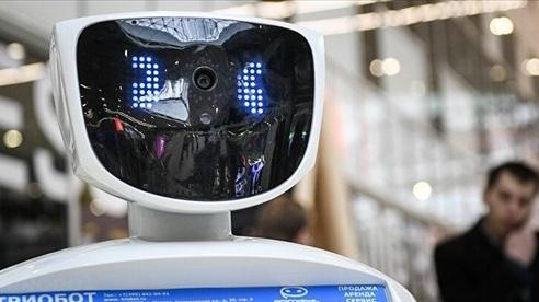 Robot của Nga được 'tuyển' vào làm việc trong siêu thị