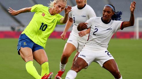 Đương kim vô địch World Cup nữ thua sốc ngày ra quân Olympic Tokyo 2020