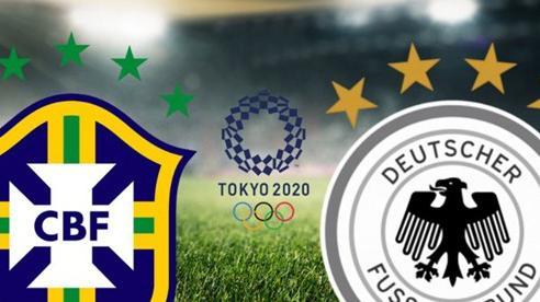 Khai mạc bóng đá nam ngày 22/7: Đức đụng độ Brazil