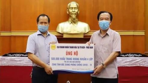HTBC phát động chương trình hỗ trợ bà con Thanh Hóa ở các tỉnh, thành phía Nam