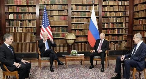 Ông Biden 'lần đầu cảm thấy là lãnh đạo' khi ngồi cùng với ông Putin