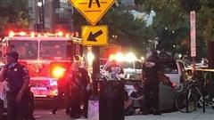 Xả súng ở thủ đô Mỹ, người dân chạy tán loạn