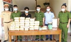Phát hiện vụ vận chuyển 31 kg ma túy và 12.000 viên hồng phiến