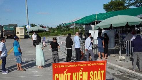 Hải Phòng siết chặt kiểm soát người và phương tiện đi qua Hà Nội