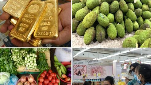 Tiêu dùng trong tuần (từ 19-25/7/2021): Giá vàng và trái cây giảm, trong khi thực phẩm tăng mạnh