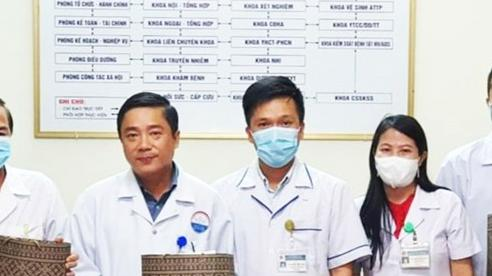 Đoàn y tế tỉnh Quảng Trị tình nguyện vào Bình Dương chống dịch