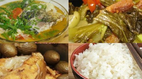 Thực đơn cơm chiều: Nhiều món cá