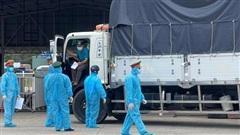 Phú Quốc test nhanh miễn phí cho tài xế chở hàng hóa tại cảng Bãi Vòng