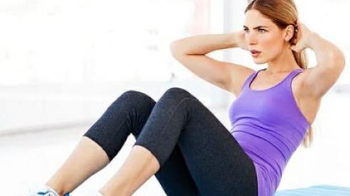 4 bài tập đơn giản giúp giảm mỡ bụng sau sinh