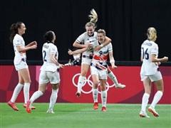 Xác định 2 đội đầu tiên vào tứ kết môn bóng đá nữ Olympic Tokyo 2020