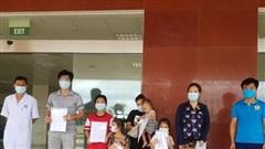 Hà Tĩnh thêm 7 bệnh nhân Covid-19 được ra viện