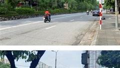[ẢNH] Đường phố Thủ đô nơi vắng vẻ, nơi đông đúc trong ngày đầu giãn cách
