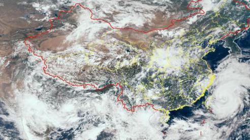 Bão In-Fa trên đường lao thẳng vào kho dầu chiến lược của Trung Quốc