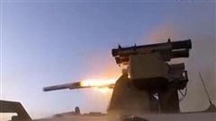 Robot Nga diệt chính xác phiến quân khi di chuyển cực nhanh