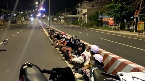 Tạm giữ nhiều thanh niên cùng phương tiện tham gia đua xe trái phép