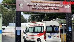 Khu thu dung điều trị bệnh nhân mắc COVID-19 tại sân bóng đá Phú Nhuận bắt đầu hoạt động