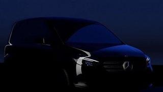 Mercedes Citan 2022 - xe van chạy điện sắp ra mắt