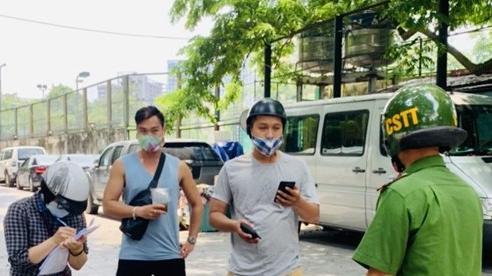 Quận Ba Đình: Xử phạt 68 trường hợp vi phạm phòng, chống dịch Covid-19