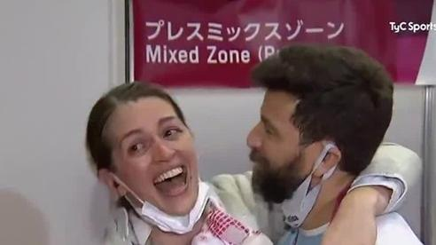 HLV cầu hôn kiếm thủ Argentina tại Olympic Tokyo 2020